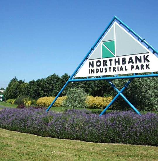 Northbank Industrial Park, Irlam